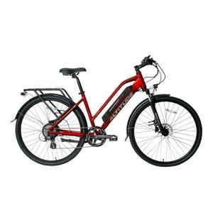 Bicicleta Eléctrica Urbana Altitude Cuyen Roja/Gris