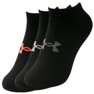 Calcetines 3 Pares Running Mujer Under Armour Essential Negro