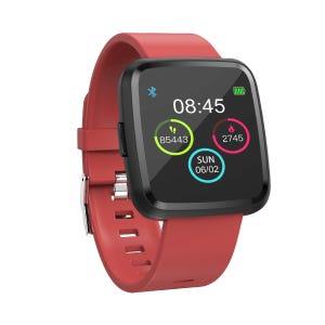 Smartwatch Blu Fit Blu Tech Rojo
