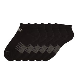 Calcetines 6 Pares Running Hombre New Balance No Show Negro