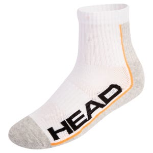 Calcetines 3 Pares Tenis Unisex Head Performance Blanco