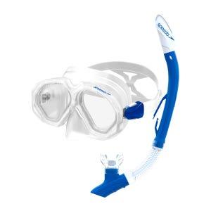 Snorkel Speedo Leisure Dual Lenses Combo Celeste