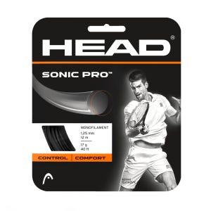 Cuerda Tenis HEAD Sonic Pro Set 17g Negro