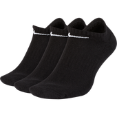 Calcetines 3 pares Unisex Nike Everyday No Show Negro