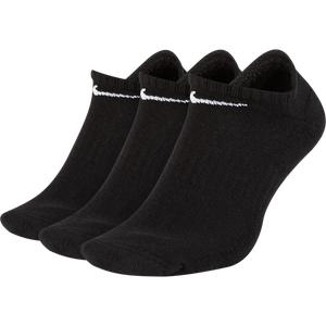 Calcetines 3 pares Unisex Nike Everyday No Show Negro