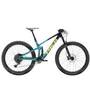 Bicicleta MTB Trek Top Fuel 9.8 29 Negro