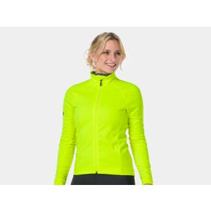 Chaqueta Ciclismo Mujer Bontrager Velocis Softshell Amarilla