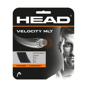 Cuerda Tenis HEAD Velocity MLT Set 17g Negro