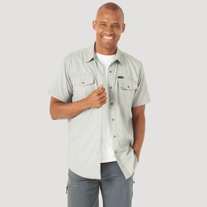Camisa Outdoor Hombre ATG by Wrangler Cottonwood Verde