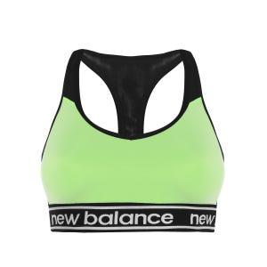 Peto Running Mujer New Balance Pace Bra 2.0 Verde