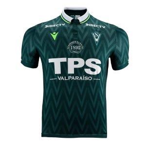 Camiseta Santiago Niño Wanderers Macron Local Verde