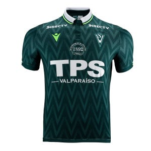 Camiseta Santiago  Wanderers Hombre Macron Adulto Local Verde