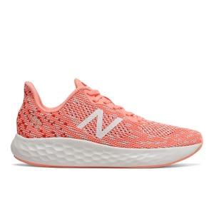 Zapatillas Running Mujer New Balance Fresh Foam Rise V2 Naranja