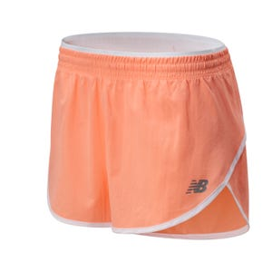 "Short Running Mujer New Balance Accelerate 2.5"" Naranja"