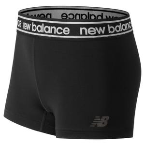 Short Running Mujer New Balance Accelerate Hot Negro
