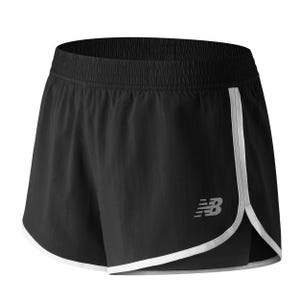 Short Running Mujer New Balance Accelerate 2 en 1 Training Negro