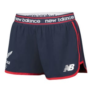 "Short Entrenamiento Mujer New Balance 5"" Team Chile"