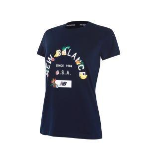 Polera Mujer New Balance Lifestyle Azul Marino