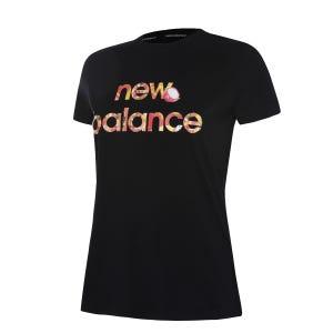 Polera Mujer New Balance Lifestyle Negro