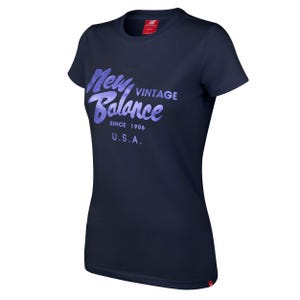 Polera Urbana Mujer New Balance Life Style Azul