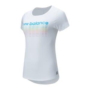 Polera Running Mujer New Balance Accelerate V2 Blanca