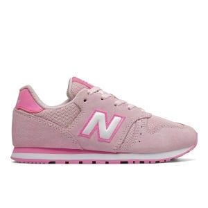 Zapatillas Urbanas Niña New Balance 373 Rosadas