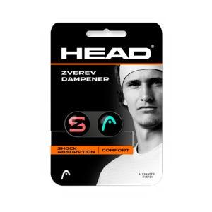 Amortiguador Anti Vibraciones Tenis Head Zverev Dampener Negro