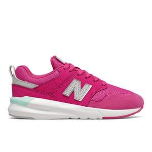 Zapatillas Urbana Niña New Balance 009 Rosada