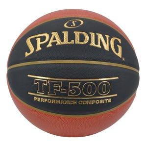 Balón Básquetbol Spalding TF 500 Basketball Black (Cuero Compuesto)