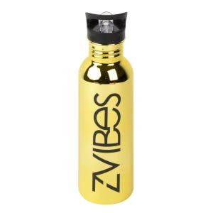 Botella Para Agua Zvibes Amarilla