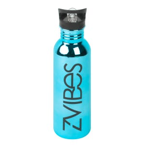 Botella Para Agua Zvibes Turquesa