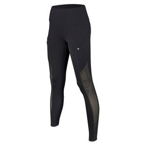 Calza Larga Running Mujer Zvibes Athletic Negro