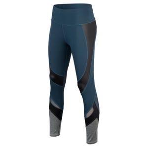 Calza Running Mujer ZVibes Athletic Azul