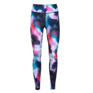 Calzas Largas Entrenamiento Mujer Zvibes Multicolor