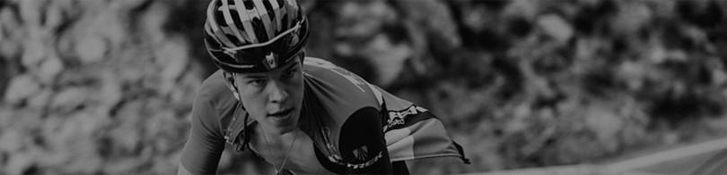 Foto Ciclista Blanco y Negro